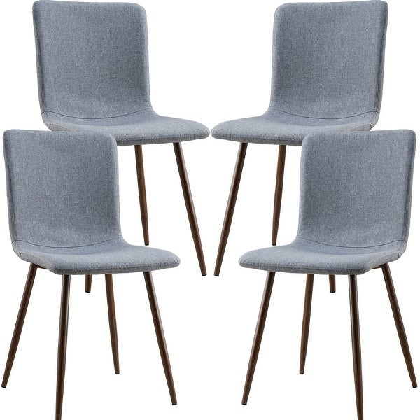 Edgemod Wadsworth Dining Chair with Walnut Legs (Set of 4). Opens flyout.