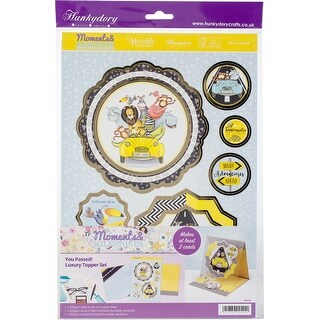 Hunkydory Moments & Milestones A4 Topper Set-You Passed!