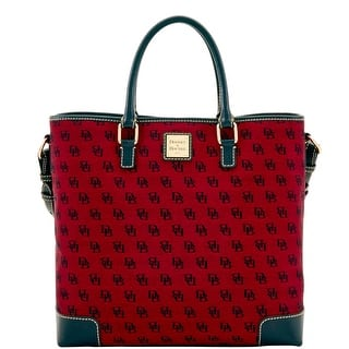 Dooney & Bourke Madison Signature Chelsea (Introduced by Dooney & Bourke at $248 in Jun 2017) - CRANBERRY|https://ak1.ostkcdn.com/images/products/is/images/direct/dfcd5026151f04530122bff2ce6bd658888071aa/Dooney-%26-Bourke-Madison-Signature-Chelsea-%28Introduced-by-Dooney-%26-Bourke-at-%24248-in-Jun-2017%29.jpg?impolicy=medium