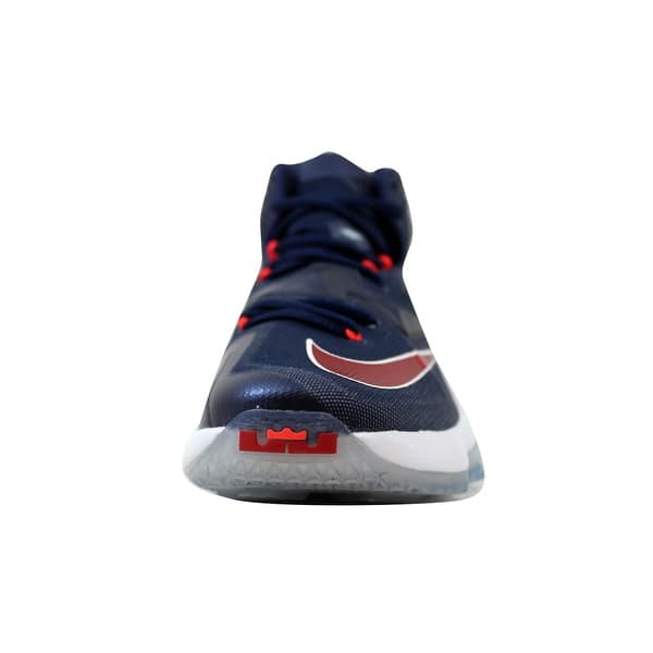 online store 9afcc 266e2 Shop Nike Men's Lebron XIII 13 Midnight Navy/University Red ...