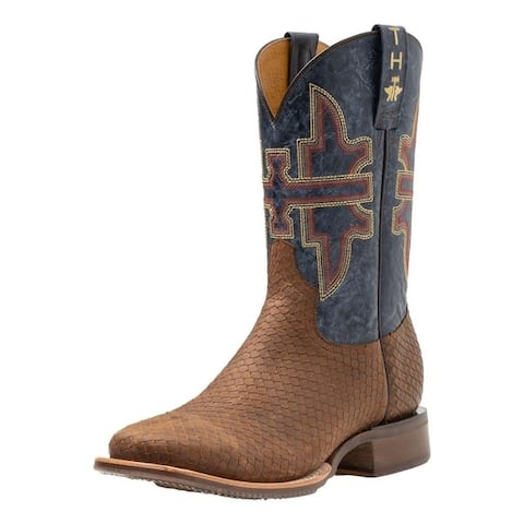 Tin Haul Western Boots Mens Leather Cut Up Viper