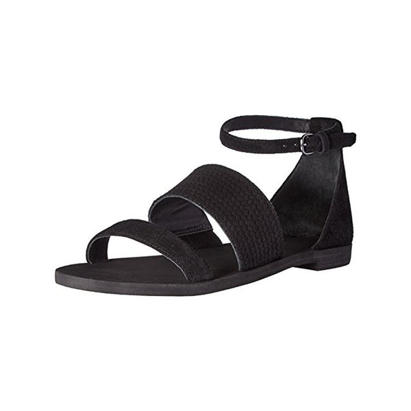 Via Spiga Womens parker Flat Sandals Open Toe Strappy