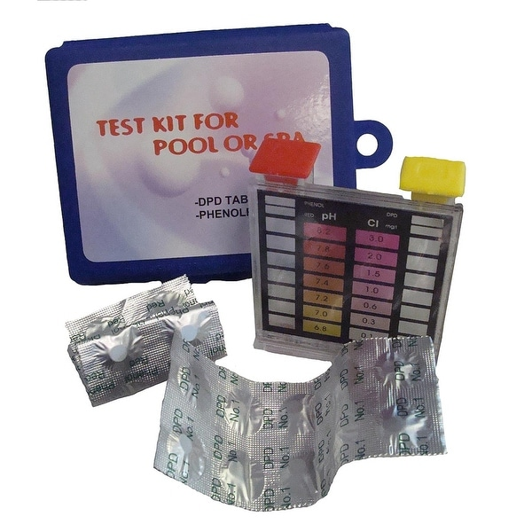 Swimming Pool Kits Direct: Shop 2-Way Swimming Pool Test Tablet Kit With Case