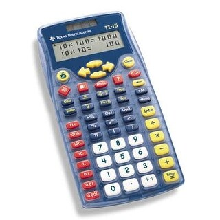 Texas Instruments 15/Pwb/2L1/A Ti 15 School Calculator