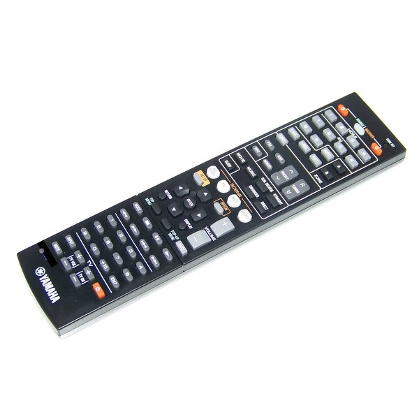 OEM Yamaha Remote Control Originally Shipped With: RXV473, RX-V473, RXV573, RX-V573, RXV573BL, RX-V573BL