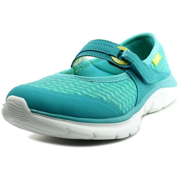 Easy Spirit e360 Mariel Women W Round Toe Canvas Blue Walking Shoe