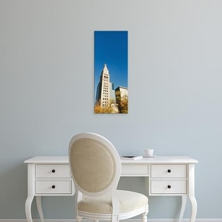 Easy Art Prints Panoramic Images's 'Low angle view of a Clock tower, Denver, Colorado, USA' Premium Canvas Art