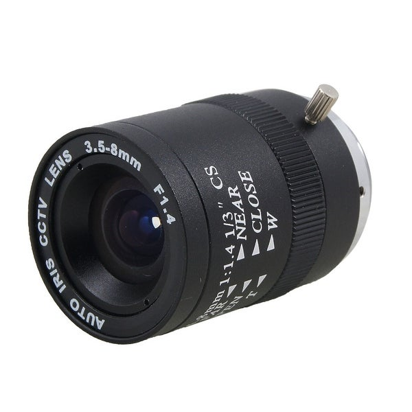 Unique Bargains CCTV Camera F1.4 Aperture Monofocal Manual Iris Lens