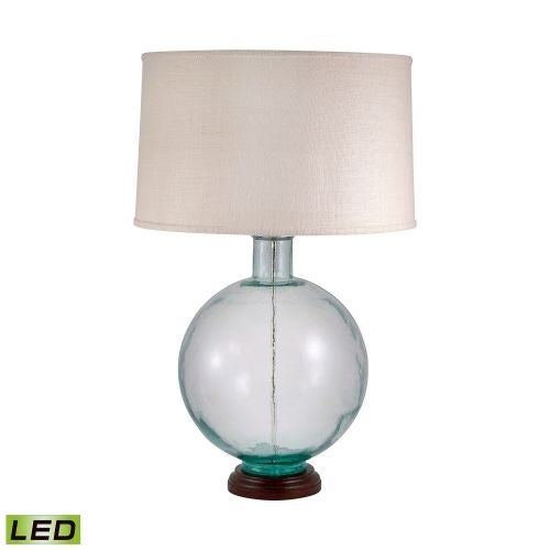 Lamp works 710 led recycled glass 1 light 31 tall led table lamp lamp works 710 led recycled glass 1 light 31 tall led table lamp with aloadofball Choice Image