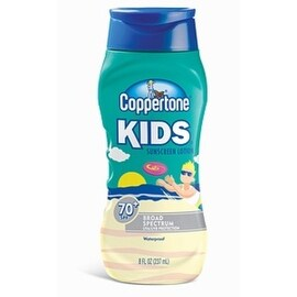 Coppertone Kids Sunscreen Lotion SPF 70+ 8 oz (4 options available)
