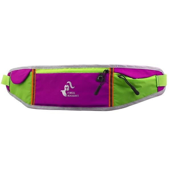 FreeKnight Authorized Workout Running Phone Holder Sport Pouch Waist Bag Fuchsia