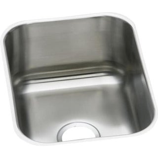 "Elkay DXUH1318 Dayton 16"" Single Basin Undermount Stainless Steel Bar Sink"