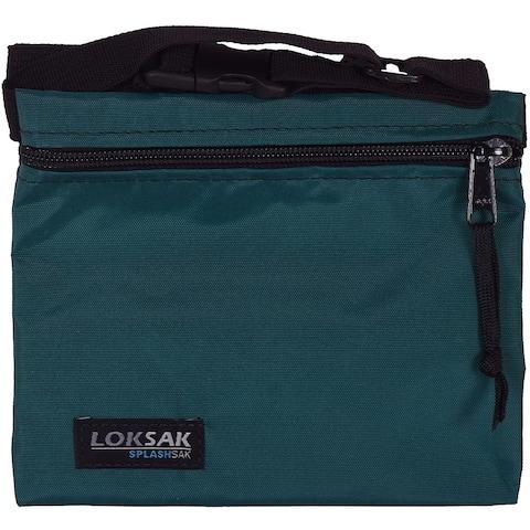 "Loksak Dipper Nylon Waterproof SplashSak - 7"" x 6"" - Teal - 7"" x 6"""