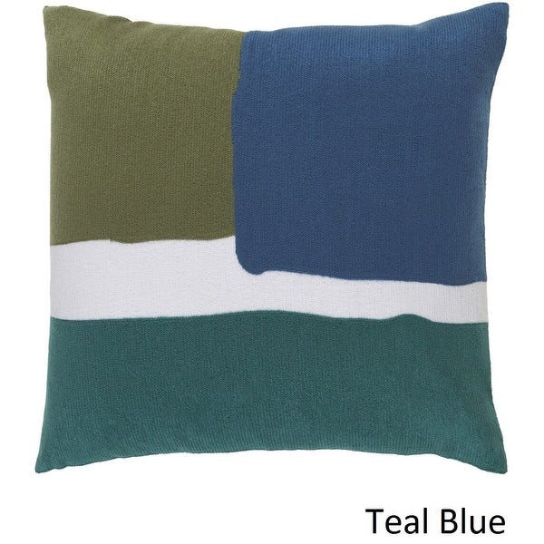 Shop Decorative Minh 20-inch Poly or Feather Down Filled Pillow - 11468726