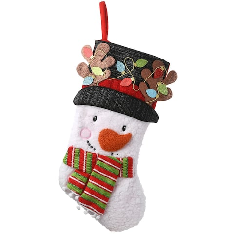 """20"""" Be Merry Collection Novelty Teddy Bear Stocking - 20 in"""