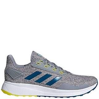 Adidas Mens Duramo 9, Grey/Real Teal/White