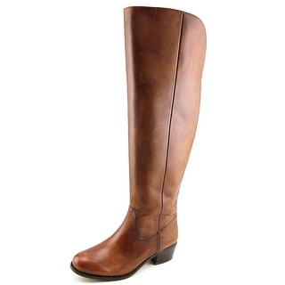 INC International Concepts Beverley Wide calf Women Leather Tan