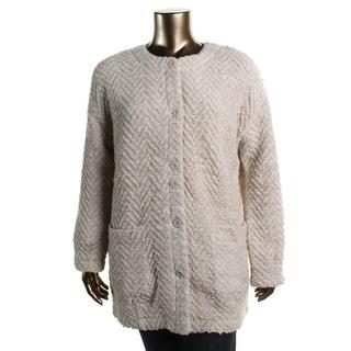 Eileen Fisher Womens Wool Boucle Cardigan Sweater - XS