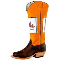 Olathe Western Boots Boys Leather Cowboy Kids Pictures Brown