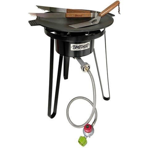 Bayou Classic® Cast Iron Campers Discada Cooker Kit