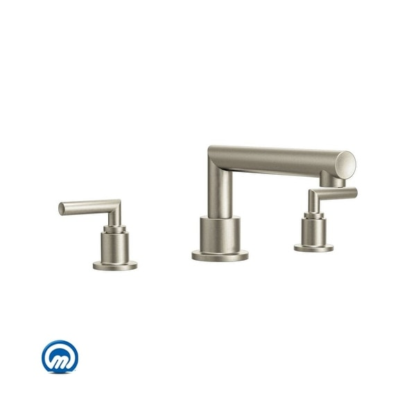 Shop Moen Ts93003 Deck Mounted Roman Tub Faucet Trim From The Arris