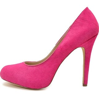 INC International Concepts Womens Lilly 2 Fur Closed Toe Classic Pumps