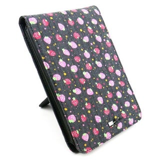 JAVOedge Strawberry Jeans Flip Case for Amazon Kindle Touch - Blue