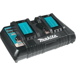 Makita 18V Lithium-Ion Dual Port Rapid Optimum Charger