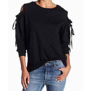 Abound Deep Womens Small Pullover Tie-Sleeve Sweater