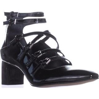 Calvin Klein Madlenka Strappy Heels, Black - 5 us / 35 eu