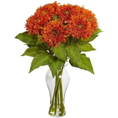Sunflower Arrangement w/Vase