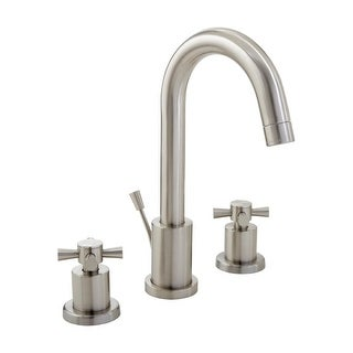 Mirabelle MIRWSML800 Milazzo Widespread Bathroom Faucet - Free Pop-Up Drain Assembly with purchase (2 options available)