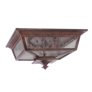 Craftmade Z1367 3 Light Down Light Outdoor Flushmount Ceiling Fixture from the Argent II Collection (2 options available)