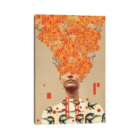 "iCanvas ""Bird Flight In Autumn"" by Frank Moth Canvas Print"