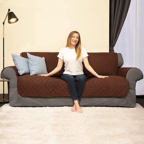 Subrtex Reversible Armchair/Loveseat/Sofa Slipcover