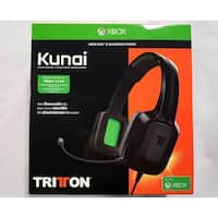 Mad Catz Tritton Kunai Stereo 3.5mm Headset XBox One BLK TRI484030M02/02/1