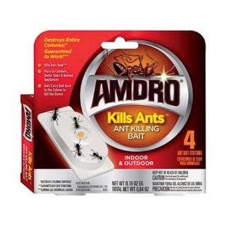 Amdro 100508684 Ant Bait Station, 4 / Pack