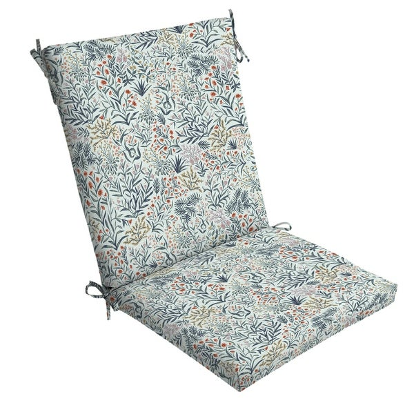 Arden Selections Pistachio Botanical Outdoor Chair Cushion - 44 in L x 20 in W x 3.5 in H. Opens flyout.