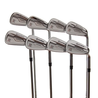New TaylorMade RSi TP Forged Irons 3-PW RH w/ PXi 6.5 X-Flex Steel Shafts