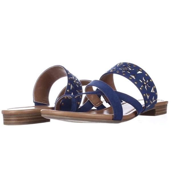 95c85d31fb2 Shop Style   Co. Womens Behati Split Toe Casual Slide Sandals - Free ...