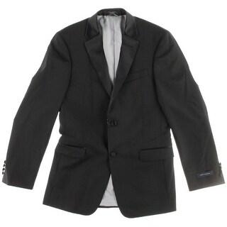 Tommy Hilfiger Mens Doyle Wool Double Vent Tuxedo Jacket - 38L