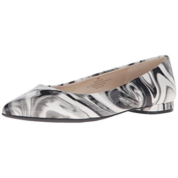 Nine West Womens Onlee Ballet Flats Pointed Toe