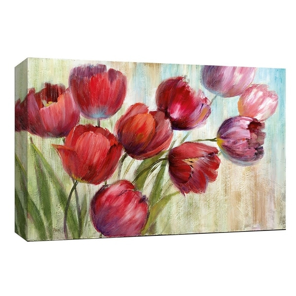 "PTM Images 9-147963 PTM Canvas Collection 8"" x 10"" - ""Sun's Blush"" Giclee Flowers Art Print on Canvas"
