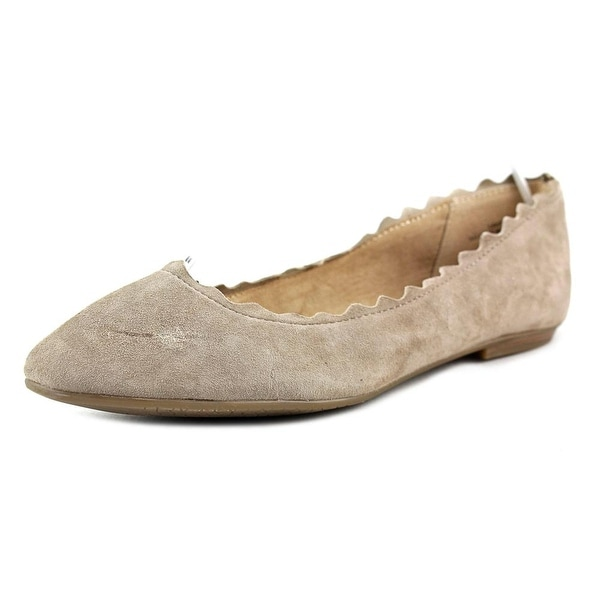 85dffd296e51d Shop Audrey Brooke Winny Women Round Toe Suede Gray Flats - Free ...