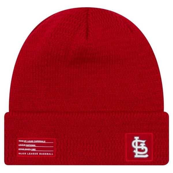 detailed look a9cd6 dc945 ... italy shop new era mlb st louis cardinals sport stocking knit hat  beanie cuff skull cap
