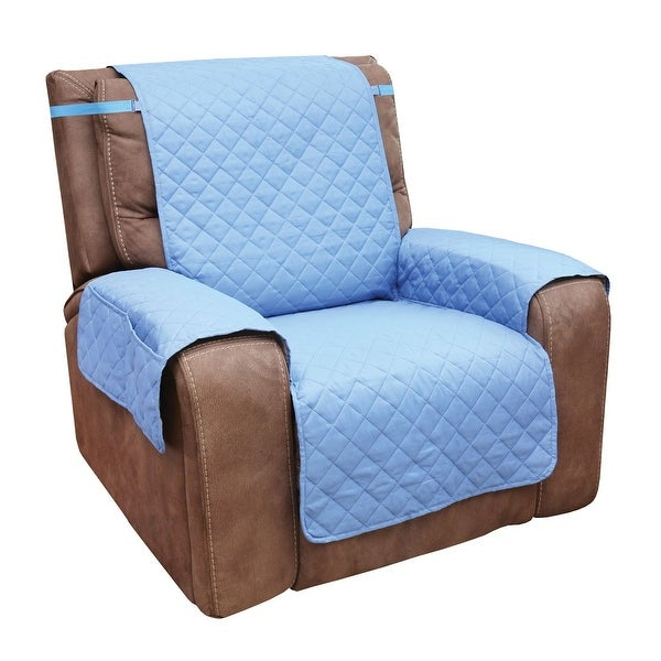 Brown by Collections ETC Protective Fleece Recliner Furniture Cover