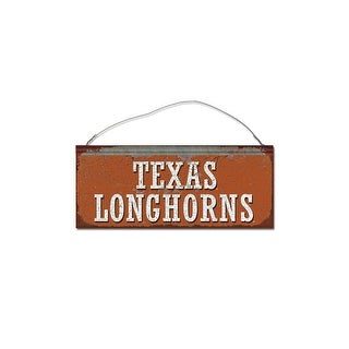 University of Texas Longhorns Small Tin Sign