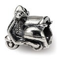Sterling Silver Reflections Kids Scooter Bead (4mm Diameter Hole) - Thumbnail 0