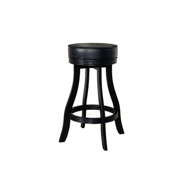 "American Heritage Billiards Designer Bar Stool Designer 31"" Tall Wood Frame Bar Stool - N/A"