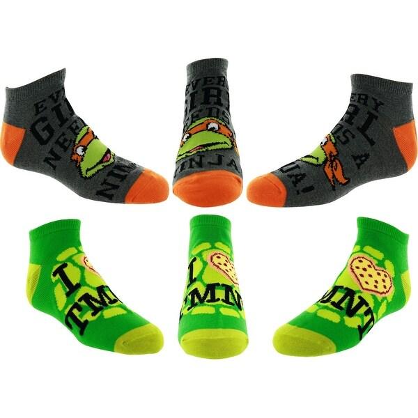 Teenage Mutant Ninja Turtles Ankle Socks - Two Pair